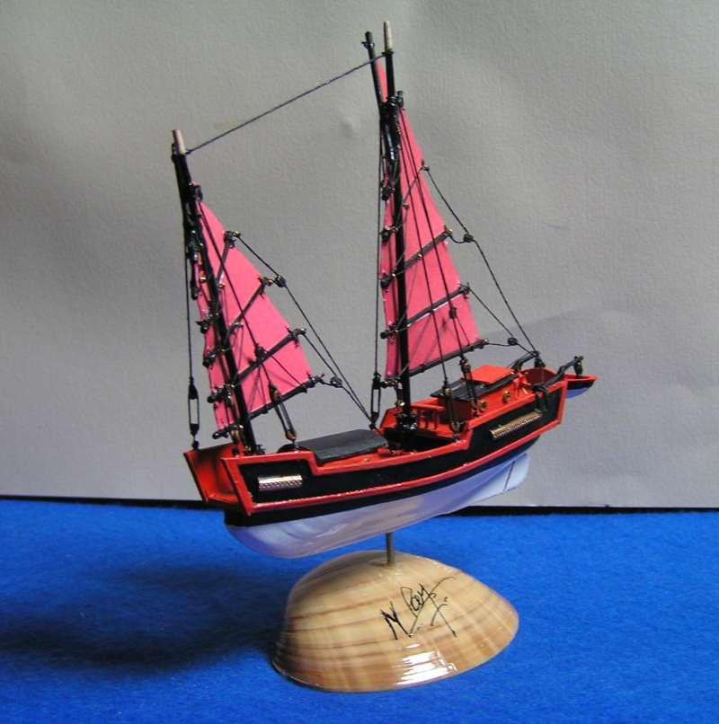 """Jonque chinoise """"La belle de Shangai""""bateau-moule 5711"""