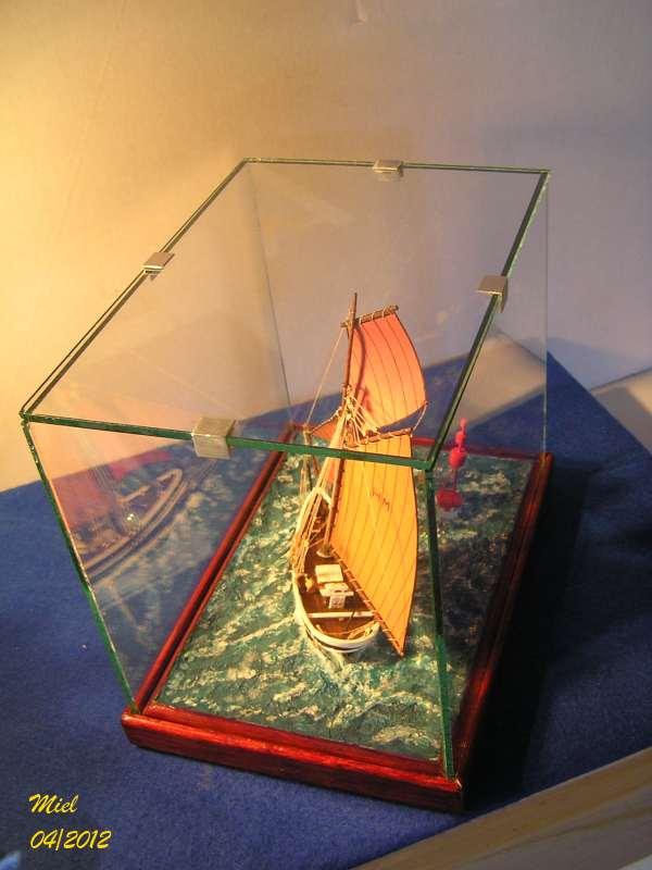 Dio : Le cotre Henriette-Marie en pleine mer (1/125°) par MIEL 6111