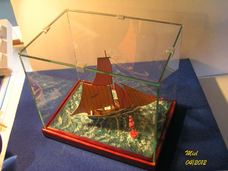 Dio : Le cotre Henriette-Marie en pleine mer (1/125°) par MIEL 6212
