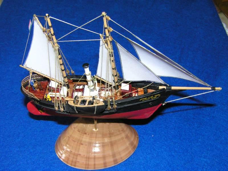 Le St Michel III yacht de Jules Verne A11