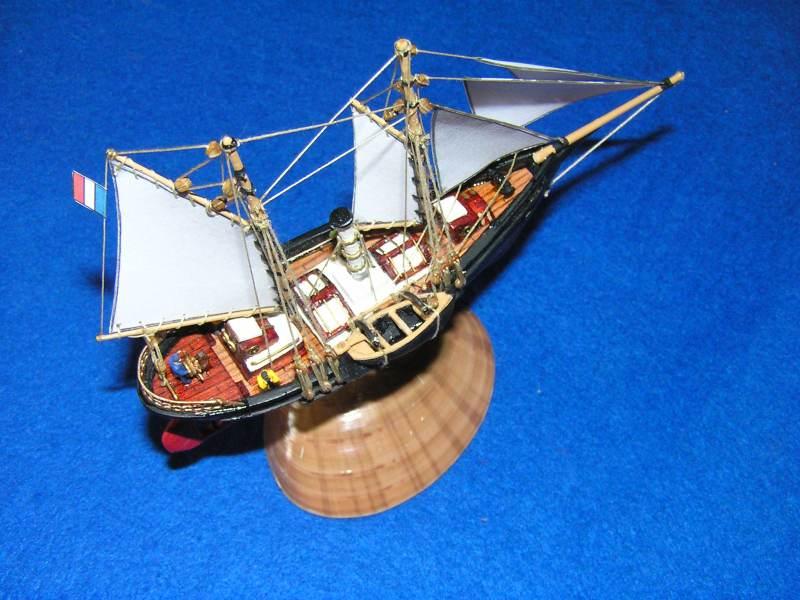 Le St Michel III yacht de Jules Verne B12