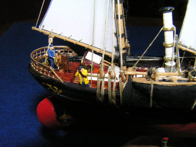 Le St Michel III yacht de Jules Verne D12