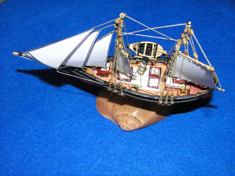 Le St Michel III yacht de Jules Verne G10