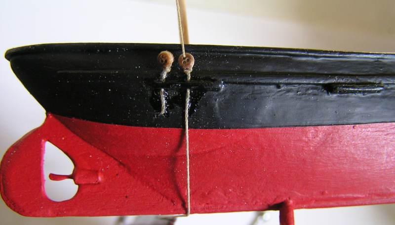 Mise en chantier du St Michel  III en bateau -moule M3110
