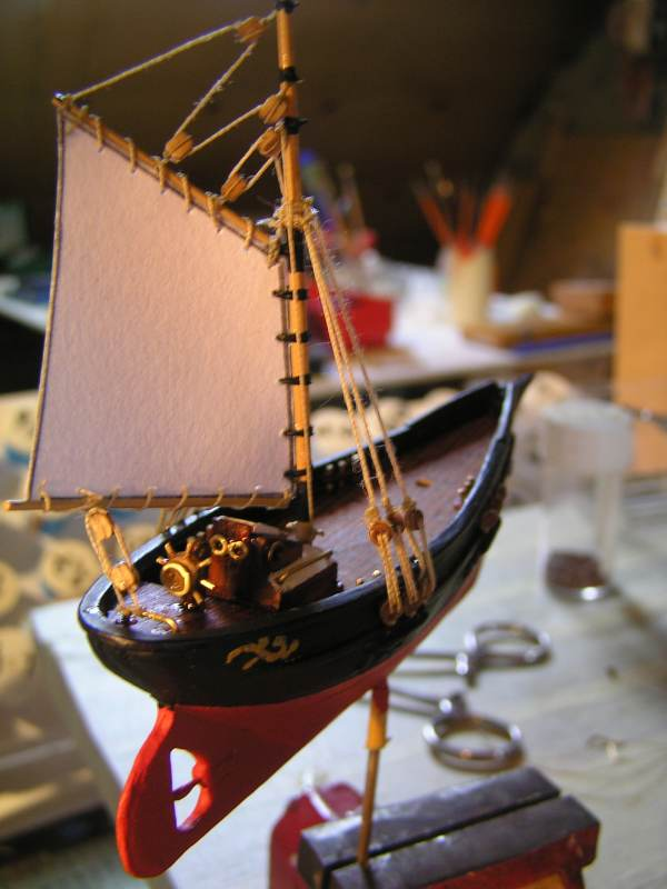 Mise en chantier du St Michel  III en bateau -moule - Page 2 M4610