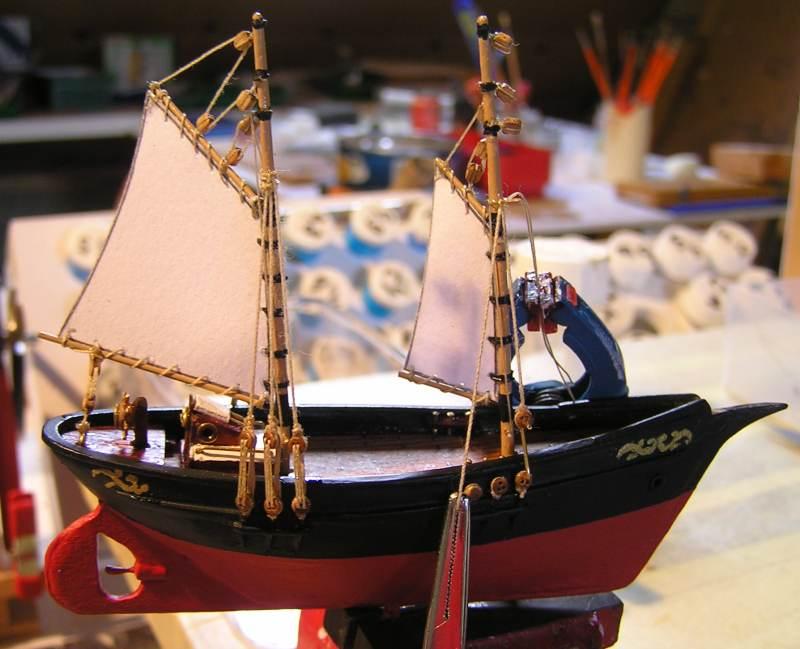 Mise en chantier du St Michel  III en bateau -moule - Page 2 M4810