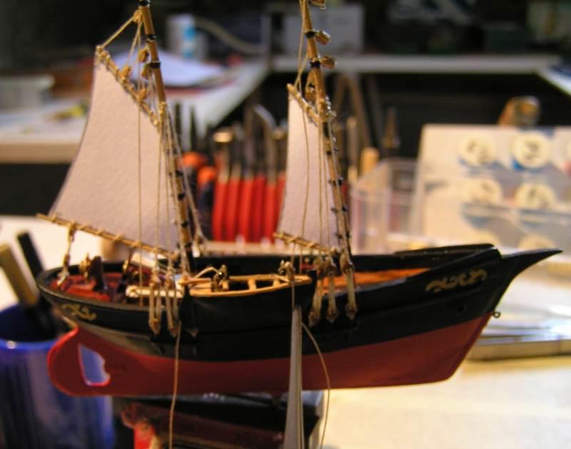 Mise en chantier du St Michel  III en bateau -moule - Page 2 M5010