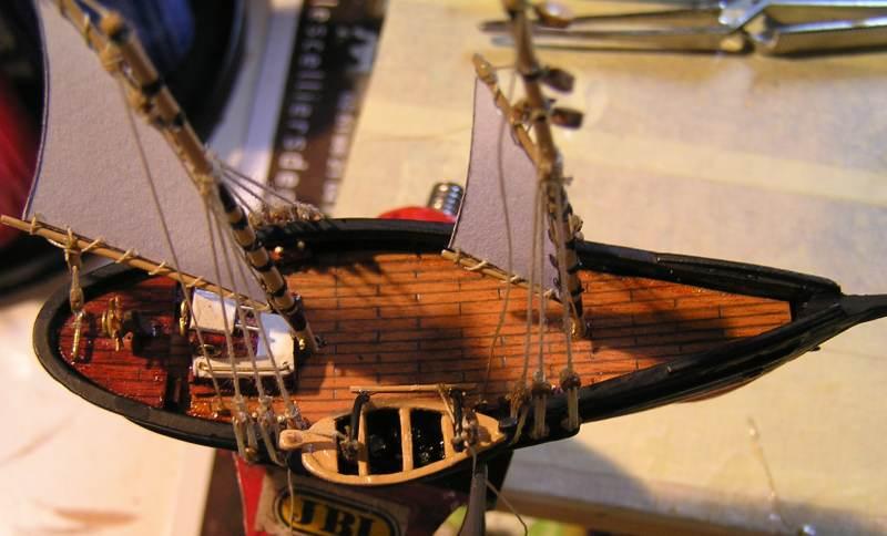 Mise en chantier du St Michel  III en bateau -moule - Page 2 M5110