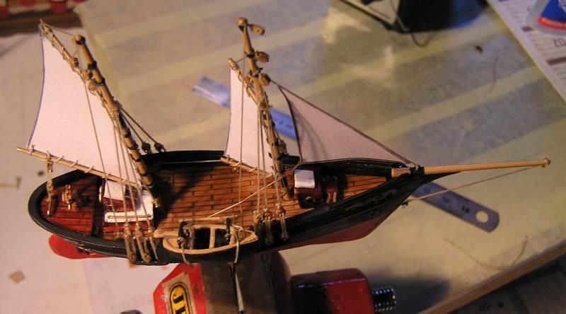 Mise en chantier du St Michel  III en bateau -moule - Page 2 M5311