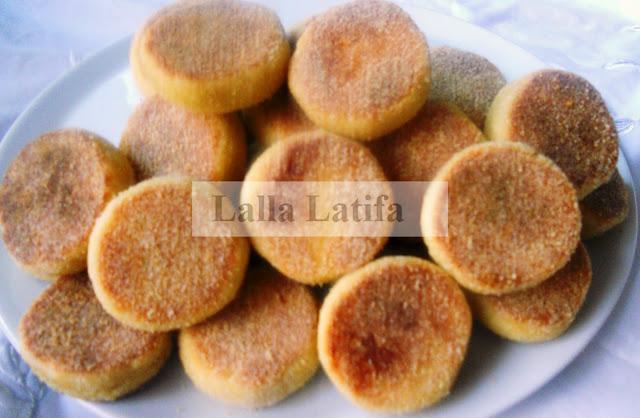 Mini-Harcha Marocaine à la Crème Fraîche par Lala Latifa Dscn2210