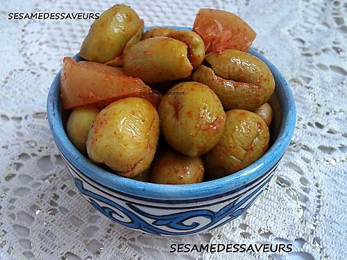 Les Olives Meslalla Marinées / Olives Marinées à la Marocaine par Sésame des Saveurs! Olive_10