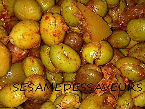 Les Olives Meslalla Marinées / Olives Marinées à la Marocaine par Sésame des Saveurs! Olive_11