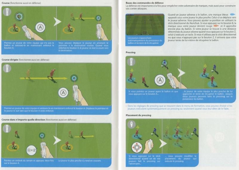 PES 2012/2013 - Toutes les commandes et touches: Playmaker, Manette, et Wiimote. 410