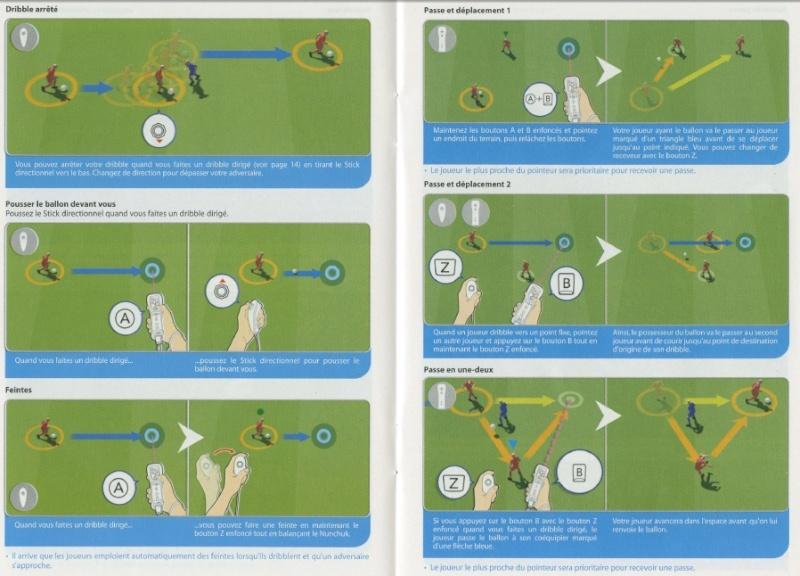 PES 2012/2013 - Toutes les commandes et touches: Playmaker, Manette, et Wiimote. 811