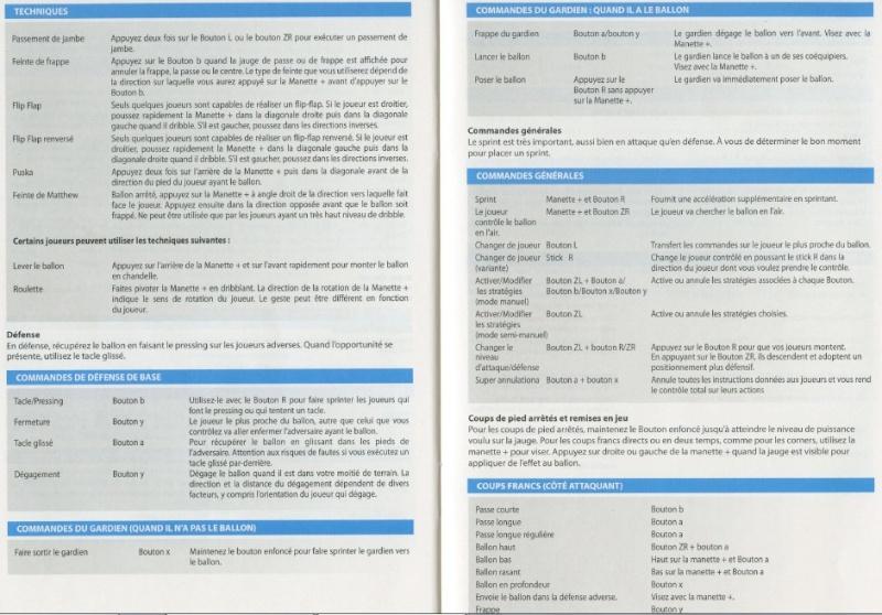 PES 2012/2013 - Toutes les commandes et touches: Playmaker, Manette, et Wiimote. Manett11