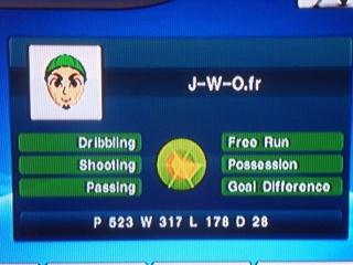 Statistiques PES Wii / Bilan Fin  Sdc16513