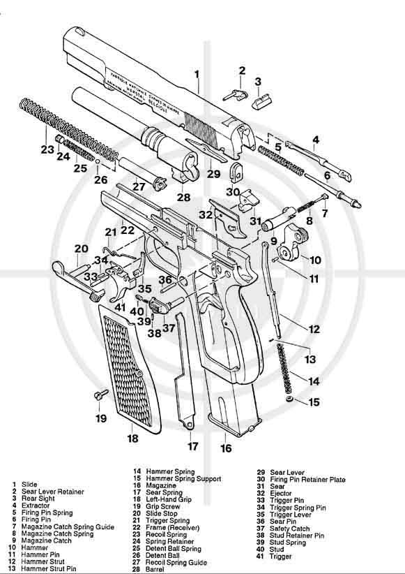 FN GP 35 - Eclaté Browni10