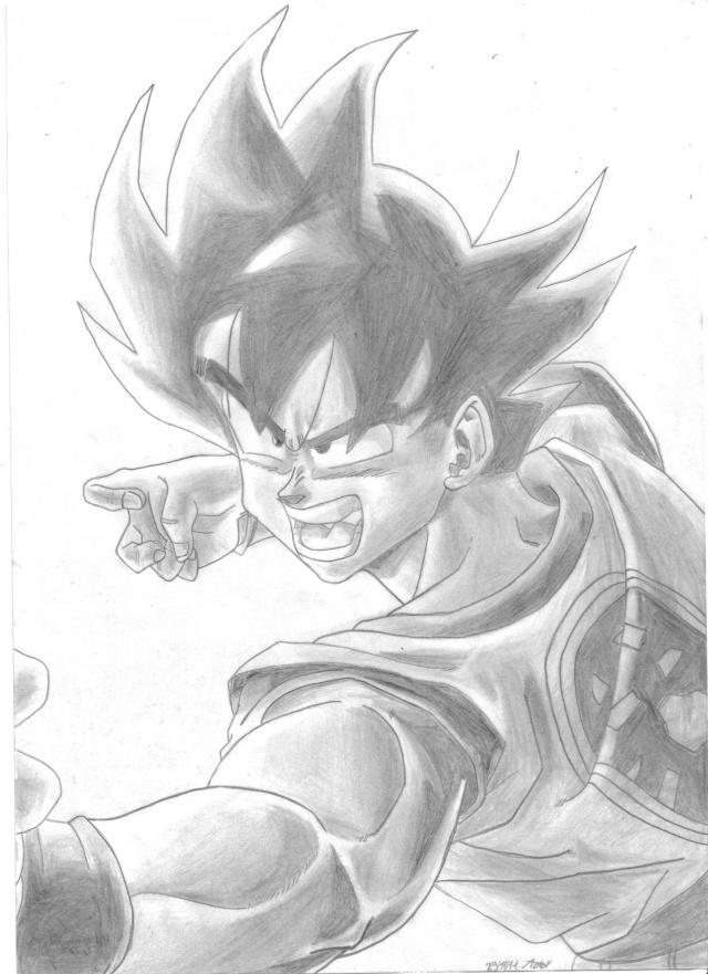 C'est Donk mes dessins Goku10