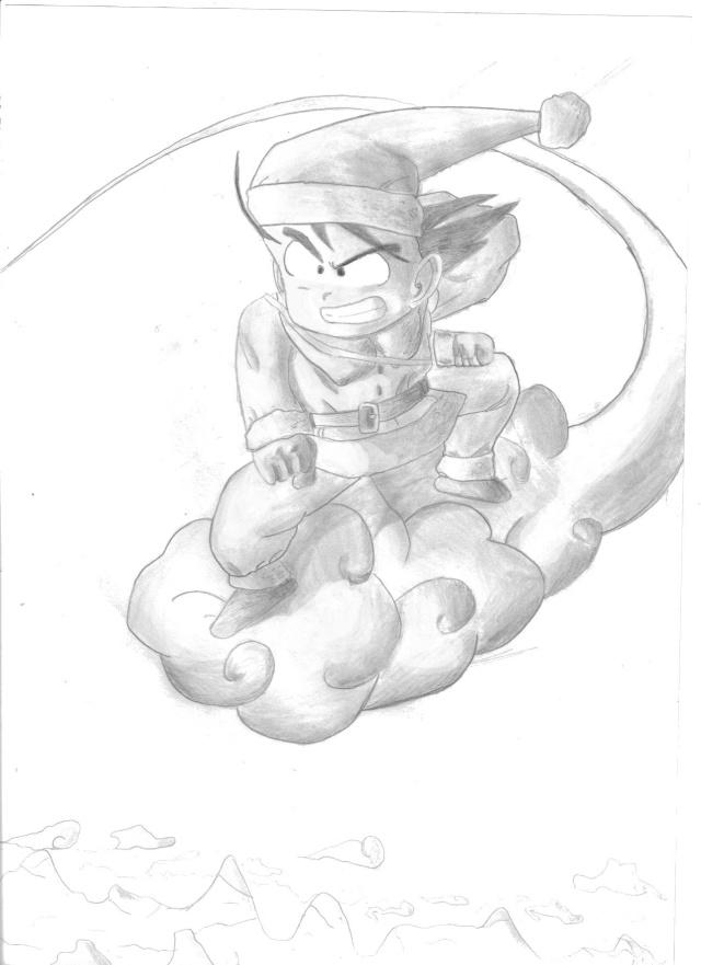 C'est Donk mes dessins Goku_n13