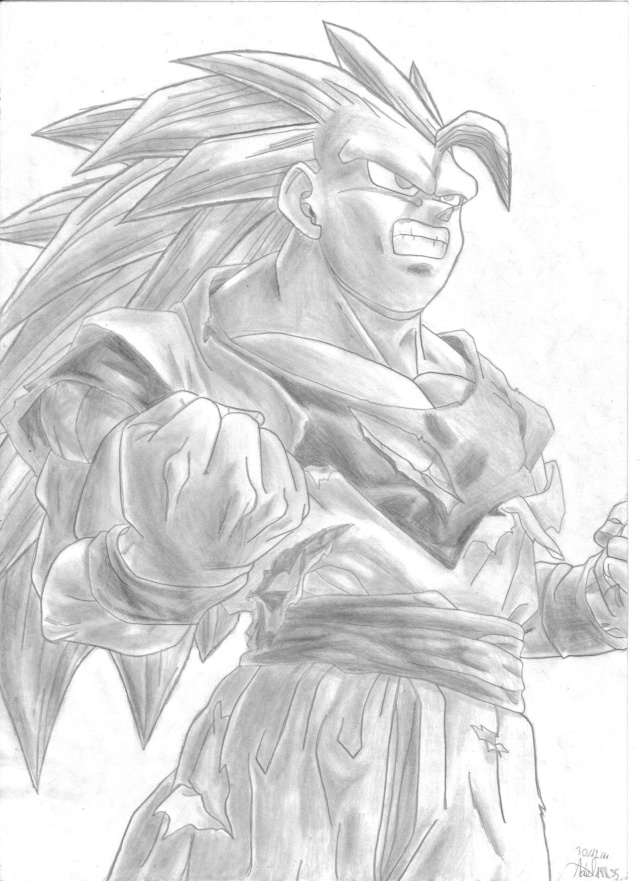 C'est Donk mes dessins Goku_s19