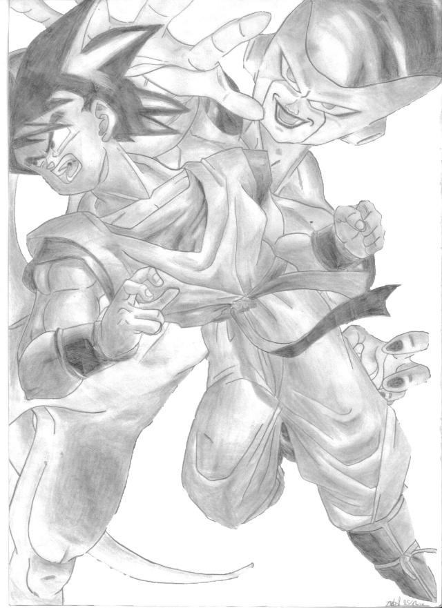 C'est Donk mes dessins Gokufr13