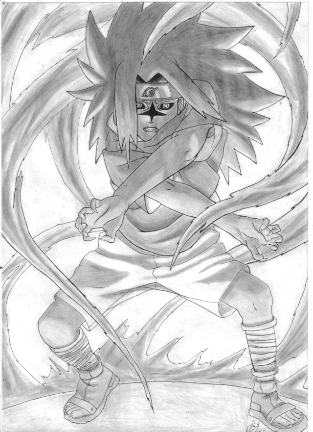 C'est Donk mes dessins Sasuke10