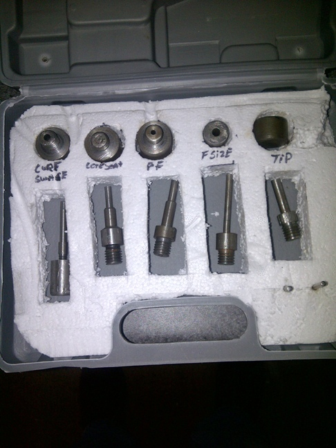 Home made 22lr to 223 bullets Dies11