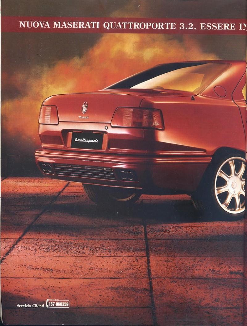 pubblicità Quattroporte IV  00115