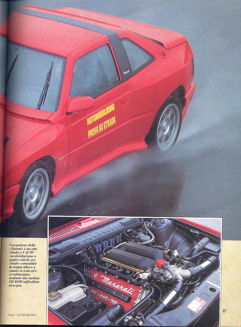 prova Shamal automobilismo maggio 1994 00211