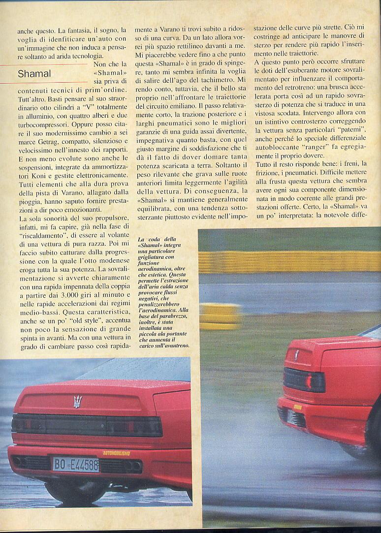 prova Shamal automobilismo maggio 1994 00310