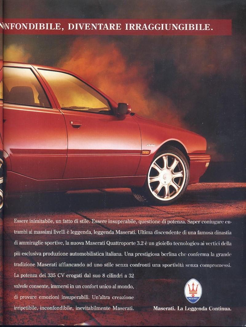 pubblicità Quattroporte IV  00311