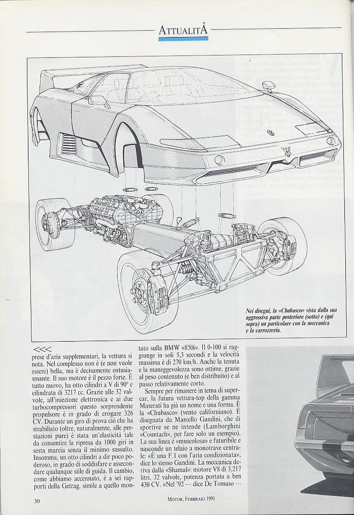 piccola intervista a DeTomaso e presentazioni nuovi modelli ...motor ..febbraio 1991 03110