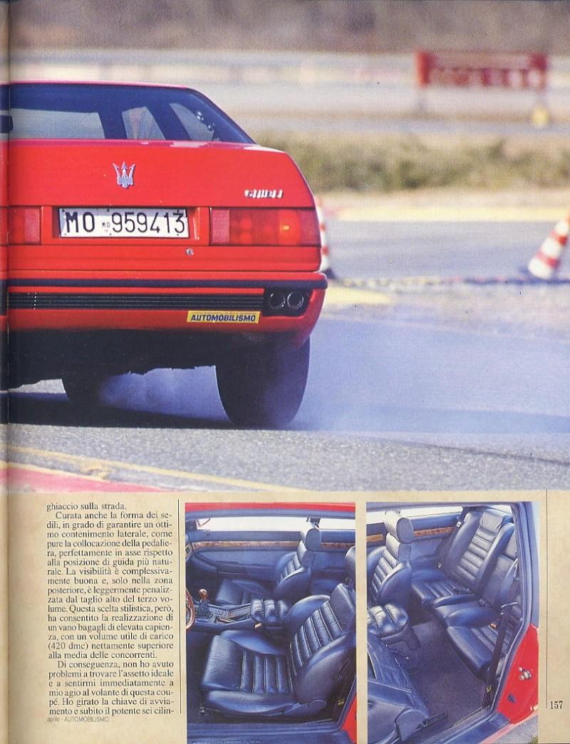 prova Ghibli ...automobilismo ...aprile 1993...tester..Tamara Vidali 07011