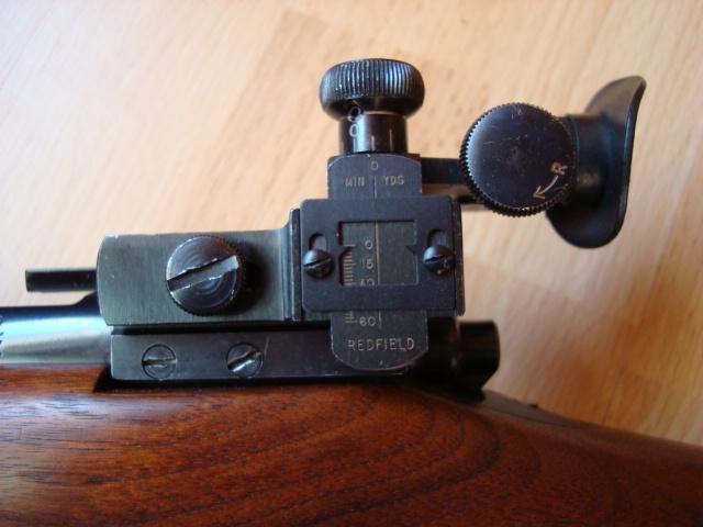 US Small Bore (22lr) History : Remington: 513 T, Mod 37, 40x  VS  Winchester 75, 52 - Page 2 Dsc01134