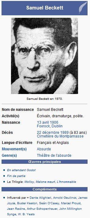 Samuel Beckett Tullia34