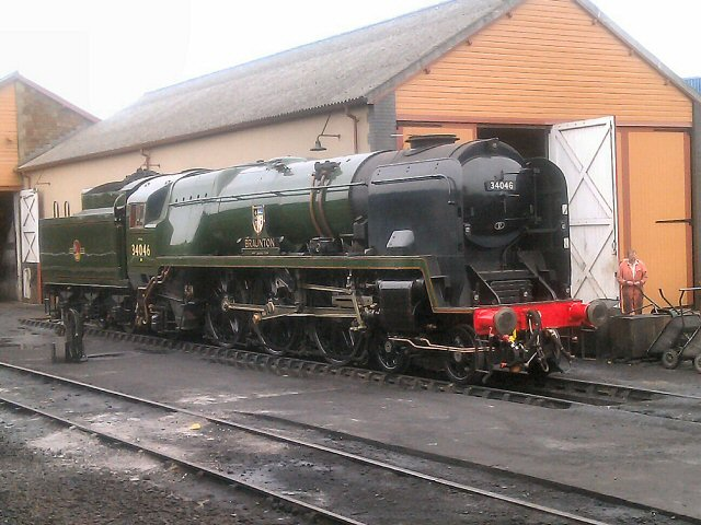 34046 (Braunton) on the Mainline Braunt11