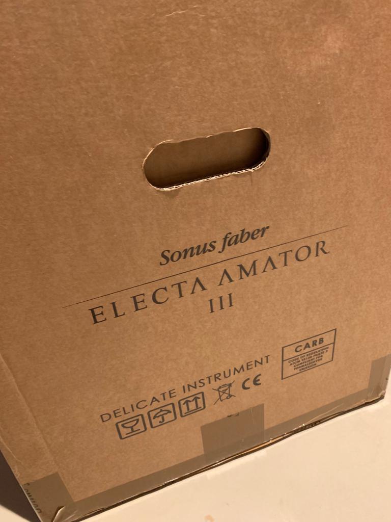 Sonus Faber Electa amator III 35th anniversary (price reduced) Amator10
