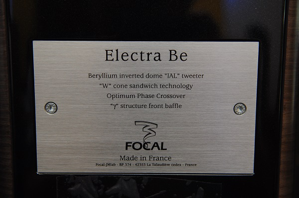 Focal Electra 1038Be floor stands speakers (Sold) Be103811