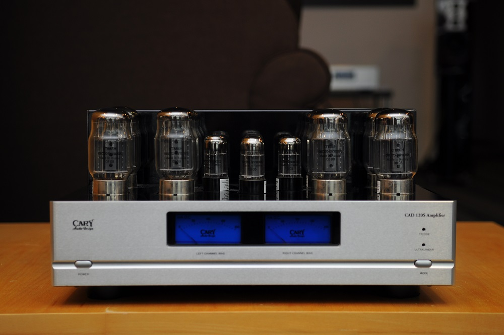 Cary Audio CAD-120s power amplifier (Display set) Cad12010
