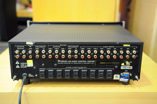 Mclntosh C36 pre amp (used) Reduced Dsc_2418