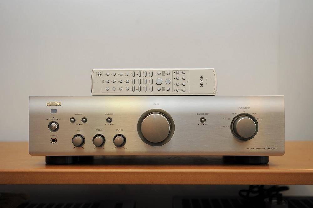 Denon PMA-500AE integrated amp (Used) Dsc_2448