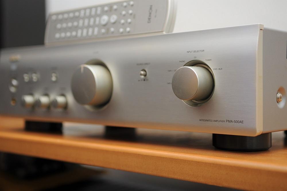 Denon PMA-500AE integrated amp (Used) Dsc_2449