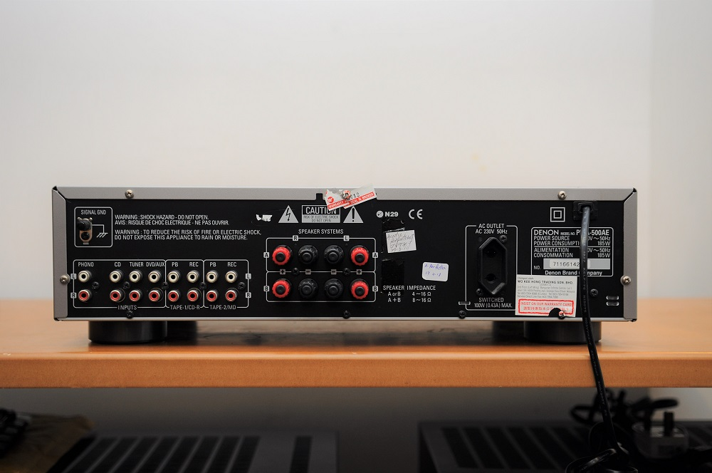 Denon PMA-500AE integrated amp (Used) Dsc_2450