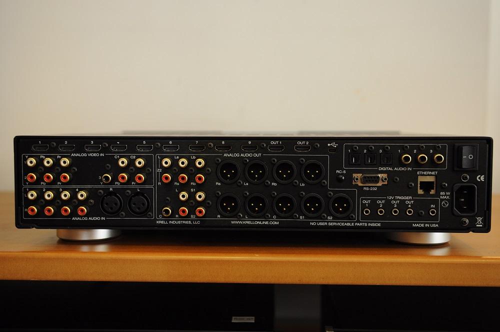 Krell Foundation 4k UHD AV processor (Used) Dsc_2831