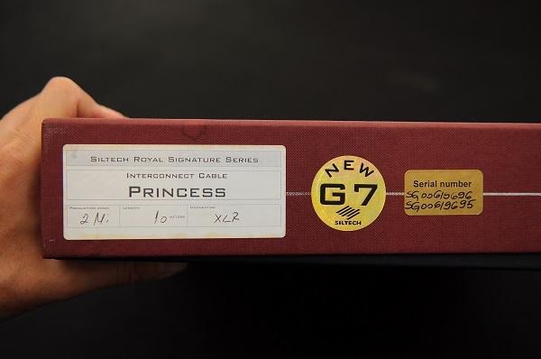 Siltech Princess G7 XLR interconnect (Sold) Prince12