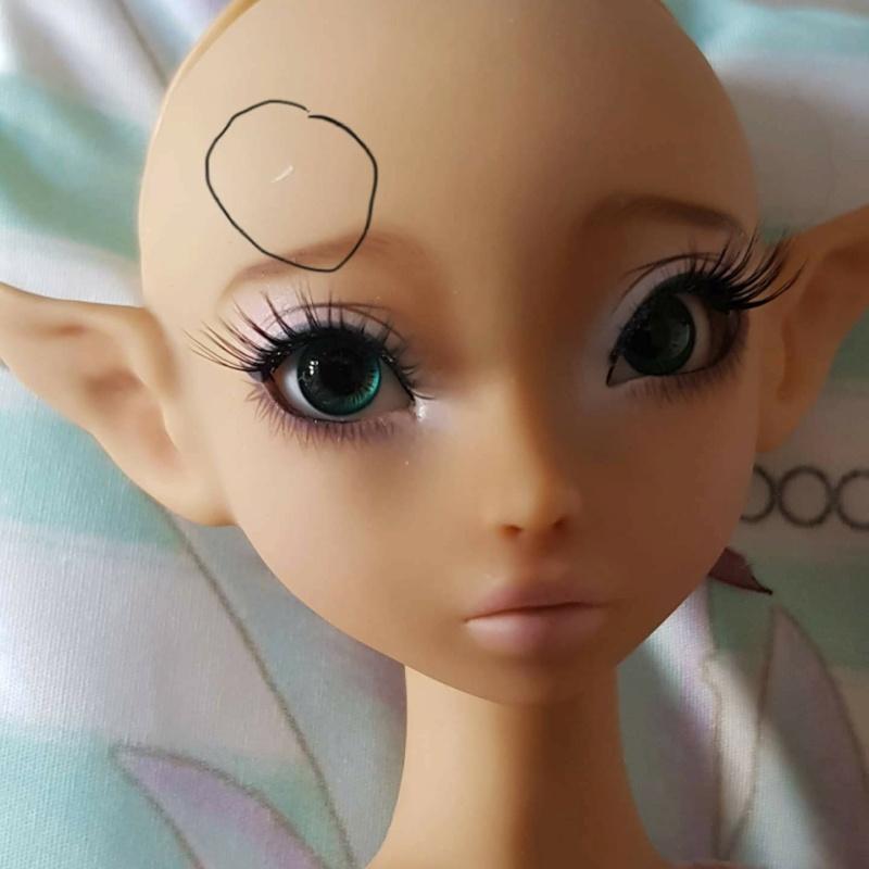 [A vendre] Mysticdolls Velkhana makeup eludys 12075610