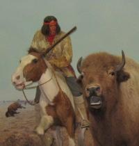 bisons et amerindiens Metis_10