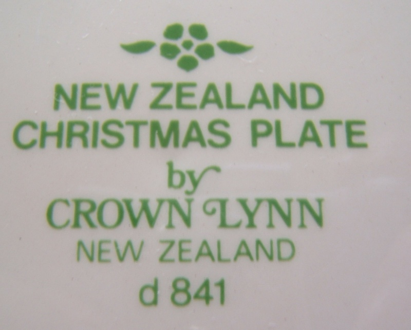 First Day of Christmas Plate d841 Christ12