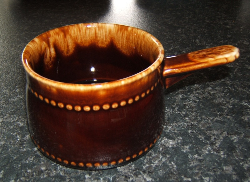 Glossy brown ramekin for the gallery 1272 Cl_ram10