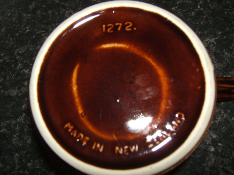 Glossy brown ramekin for the gallery 1272 Cl_ram12